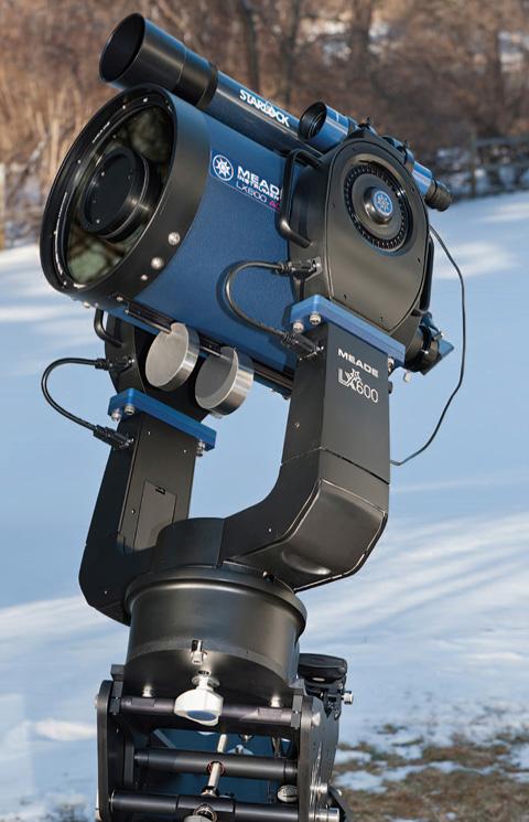 Meade 8″ LX90 ACF - Adams AstroSite